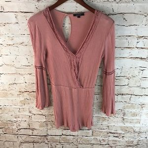 Ambiance UO Crinkled Romper